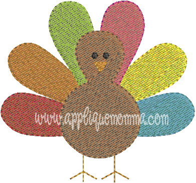 Turkey Mini Embroidery Design Emboridery Patterns And Applique