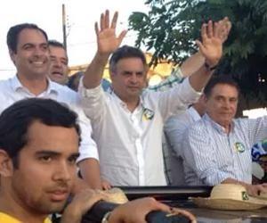 PORTAL DO  CAMALEÃO PHB: Aécio diz: 'serei lembrado como 'melhor presidente...