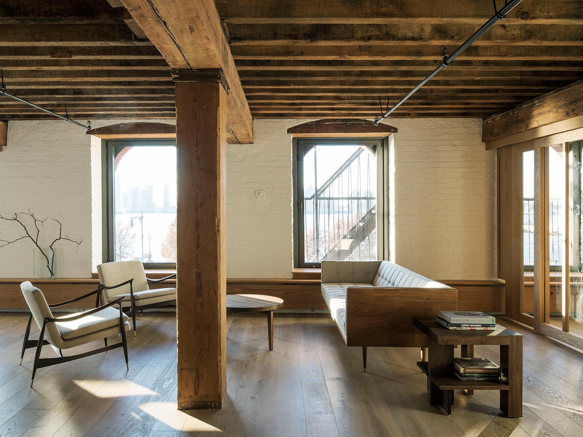 A Loft Renovation Interior Design Project In Tribeca New York