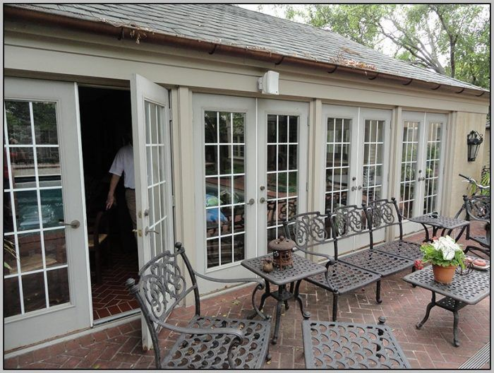 Exterior French Patio Doors Outswing June Rose Cottage 3