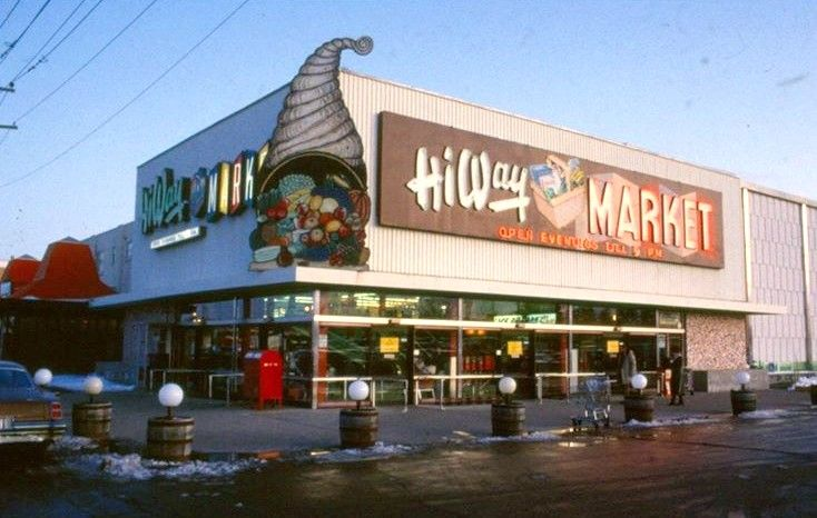 stores kitchener waterloo ontario hiway market ready for the christmas season vintage