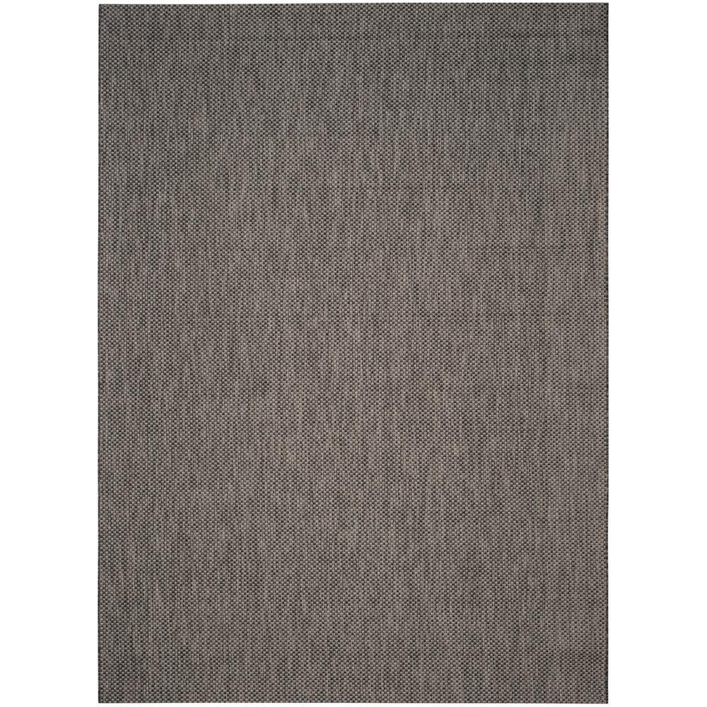 Courtyard blackbeige ft x ft indooroutdoor area rug