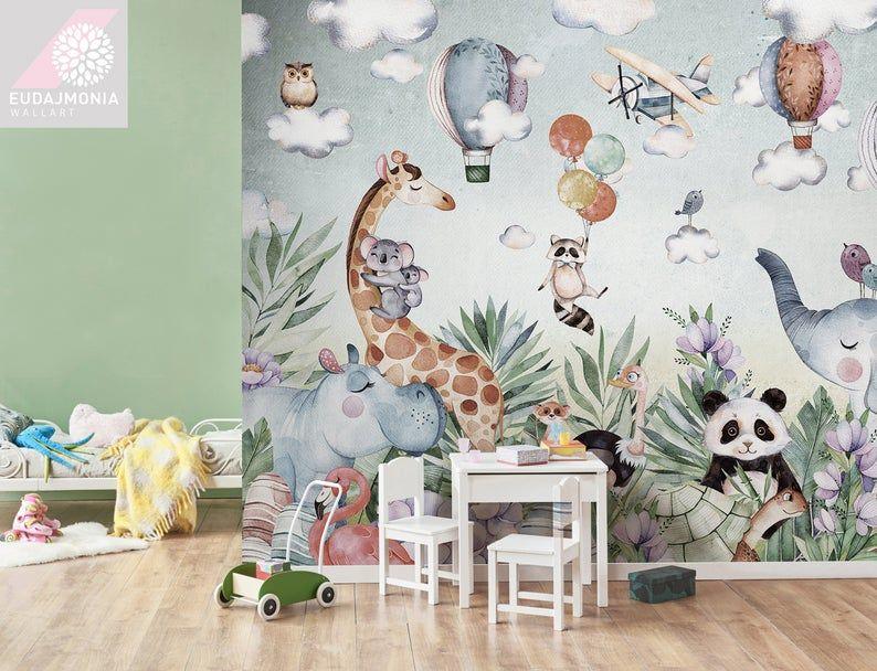 15+ Papier peint chambre bebe jungle trends