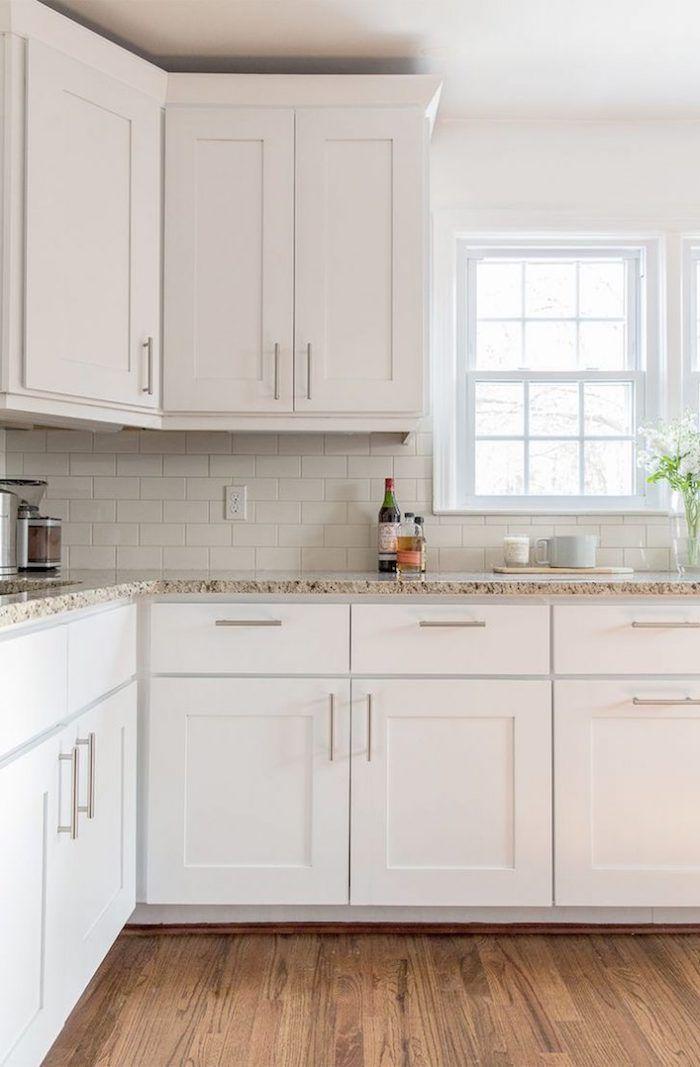 35 Fresh White Kitchen Cabinets Ideas To Brighten Your: 1001 + Ideas For Stylish Subway Tile Kitchen Backsplash