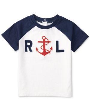 ad79d2226 Ralph Lauren Graphic-Print Cotton T-Shirt