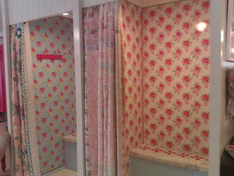 Bedroom Decorating Ideas Cath Kidston nice cath kidston wallpaper and quilt curtains -- fitting rooms