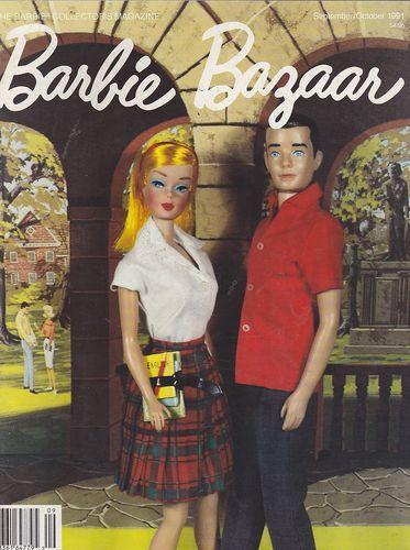 Sept Oct 1991 Barbie Bazaar Vintage Doll Magazine | eBay