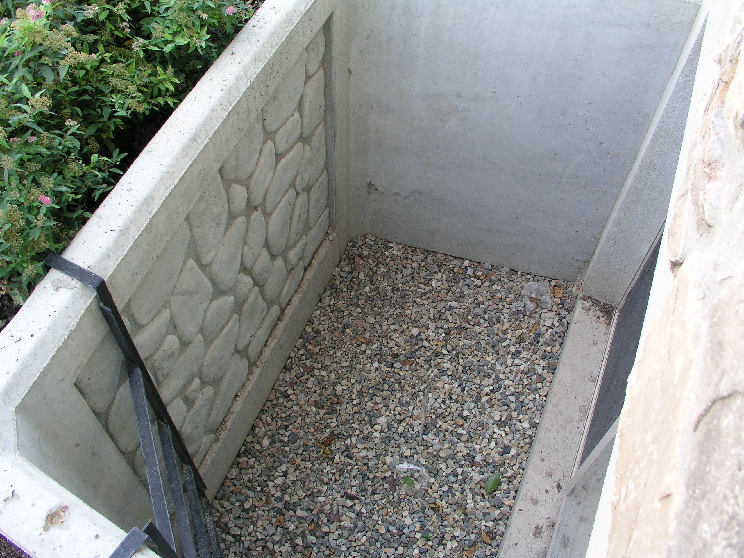 Window wells attractive and durable precast concrete for Precast concrete basement walls cost