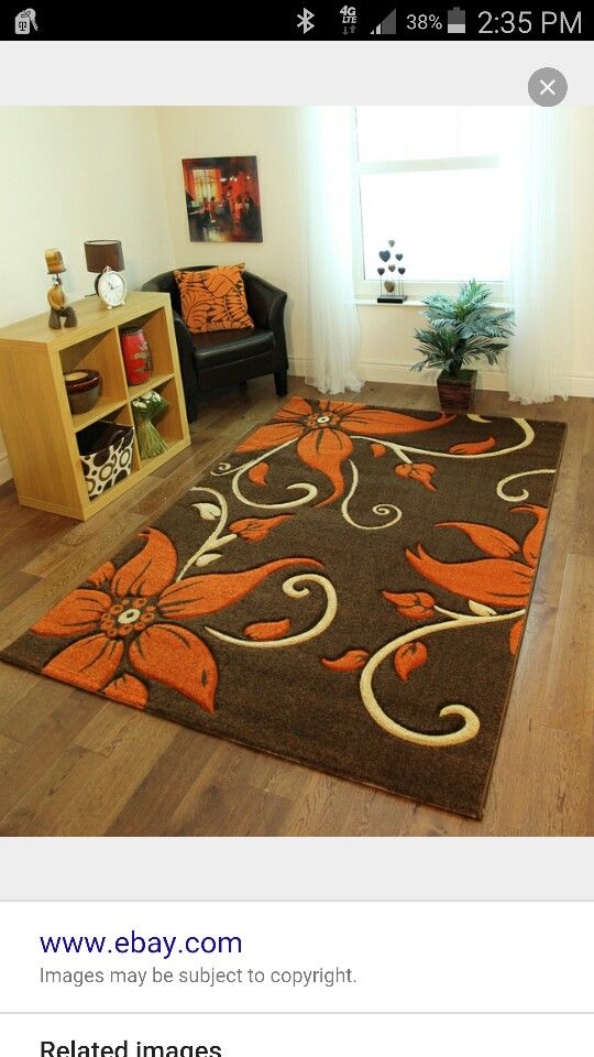 living room rug sets french country rooms photos chocolate brown and orange accents