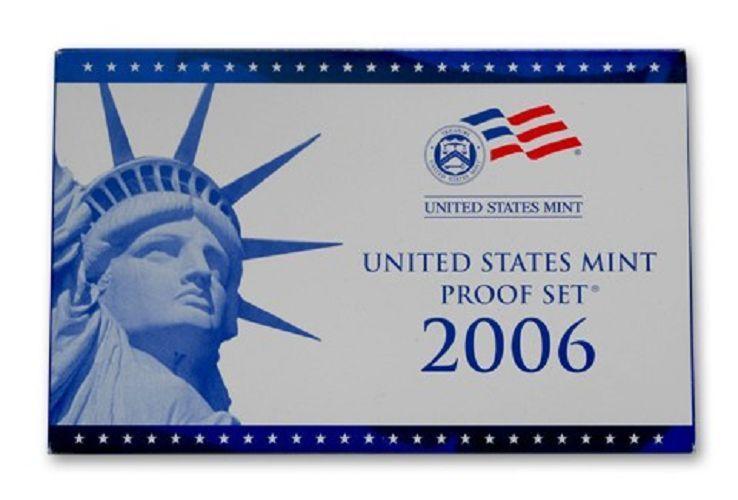 2006 United States Mint Proof Set - 10 Coins - COA & OGP