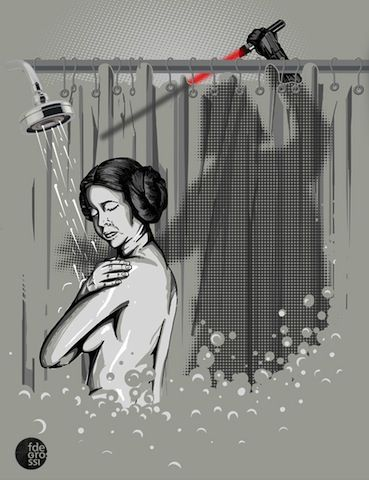 Star Wars Meets Psycho and The Karate Kid in These Funky Poster Mash-ups | Movie News | Movies.com