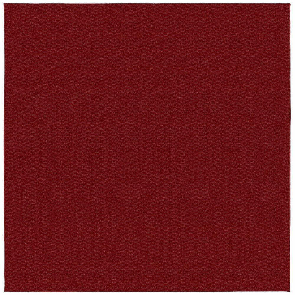 Garland Rug Medallion Chili Red 12 ft. x 12 ft. Square Area Rug-MA-00-0N-1212-14 - The Home Depot