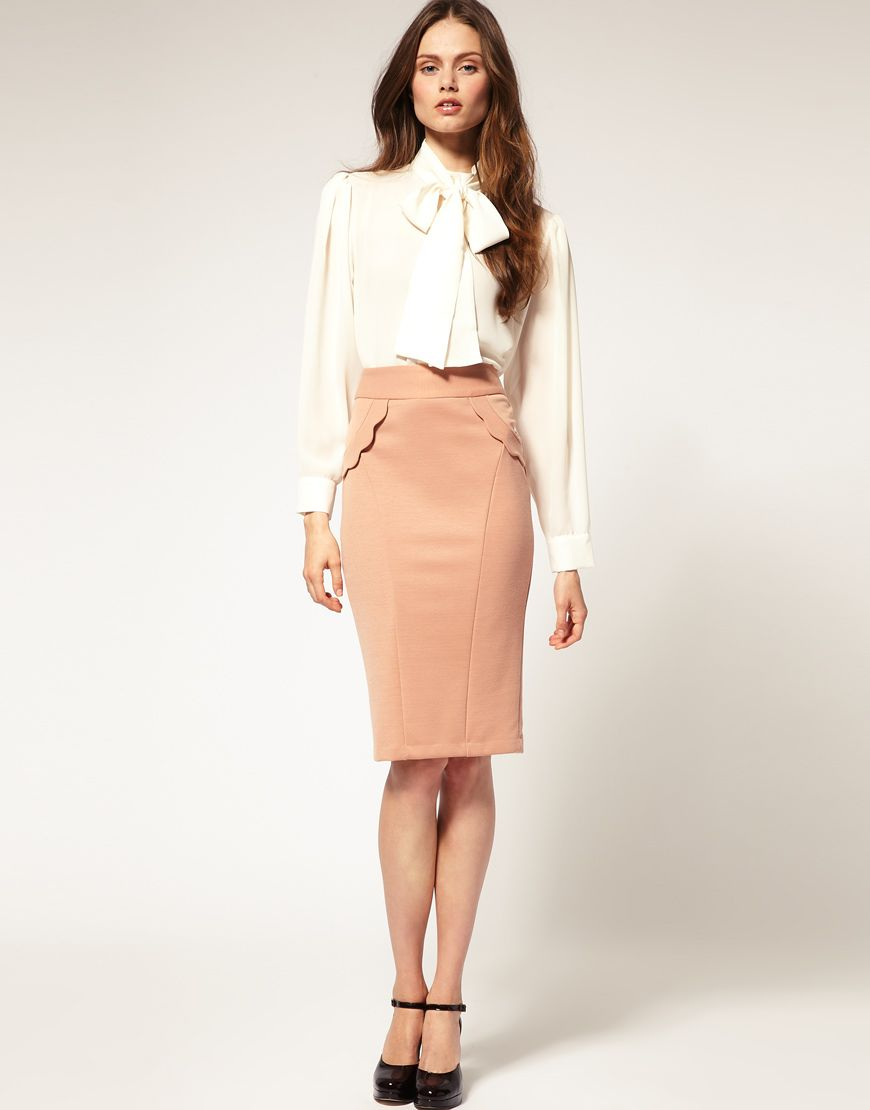 ASOS | Online shopping for the Latest Clothes & Fashion. Casual Pencil  SkirtsPencil Skirt ...