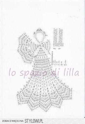 Collezione Di Angeli Alluncinetto Con Schemi Crochet Angels