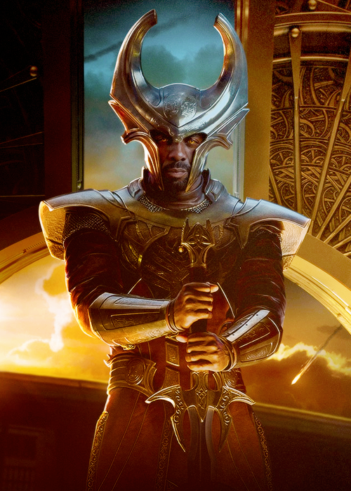 idris elba as heimdall in thor the dark world sons of