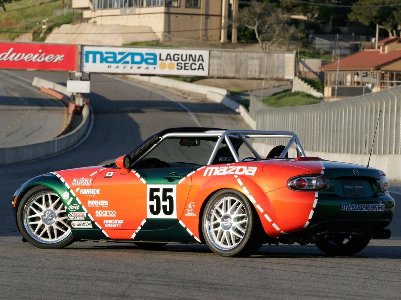 2006 Mazda MX5 Spec Miata  Rear Angle  1280x960 Wallpaper
