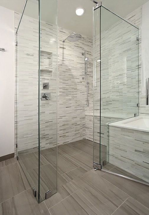 Raising the Bar with Curbless Showers in 2018 | Universal Design ...