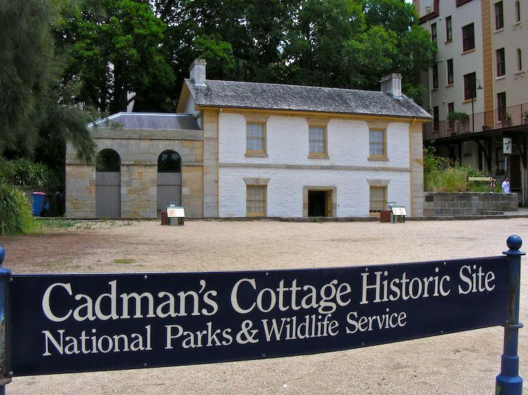 In Sydney: Cadman's Cottage « lookANDsee