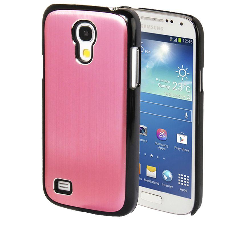 Samsung Galaxy S4 Mini Case Brushed Metal Roze Pink Samsung Galaxy S4 Mini Samsung Galaxy S4 Galaxy S4 Mini