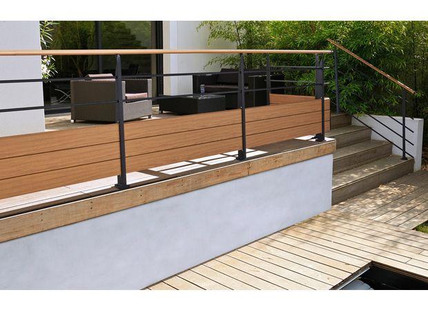 Les carrelages extérieurs - terrasse sur pilotis metal