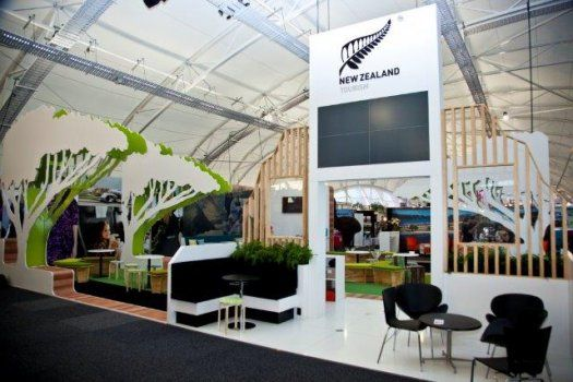 Exhibition Stands Nz : Trenz trade display stand for tourism new zealand by peek