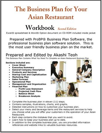 The Business Plan For Your Asian Restaurant  Food Related
