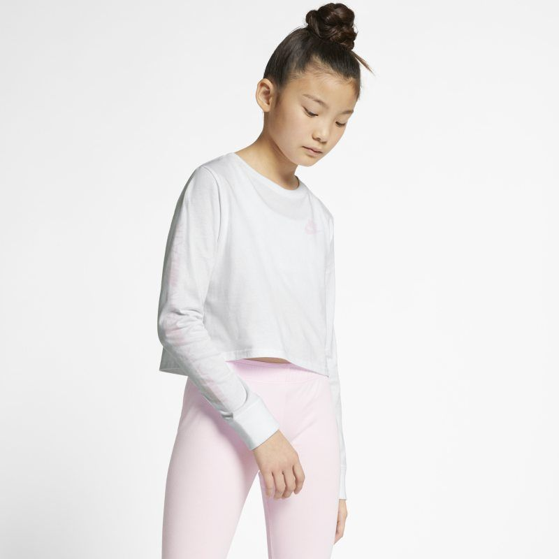 589c299e Air Older Kids' (Girls') Long-Sleeve Crop Top in 2019 | Products ...
