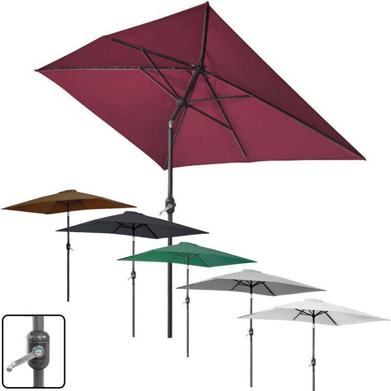 Ebay Sponsored Sonnenschirm 2x3m Rechteckig Balkonschirm