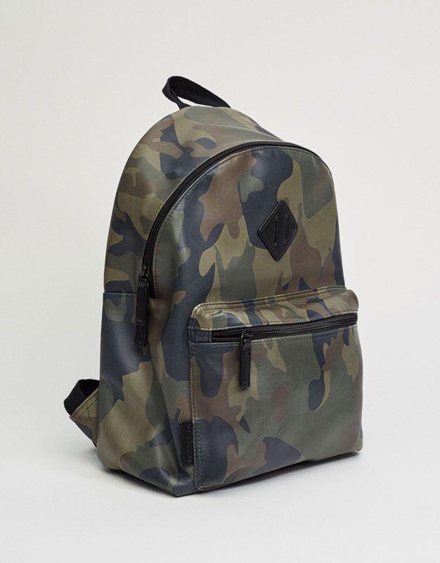 rechercher le meilleur Nouvelles Arrivées vente de sortie Sac à dos camouflage - Accessoires - Nouveautés - Homme ...