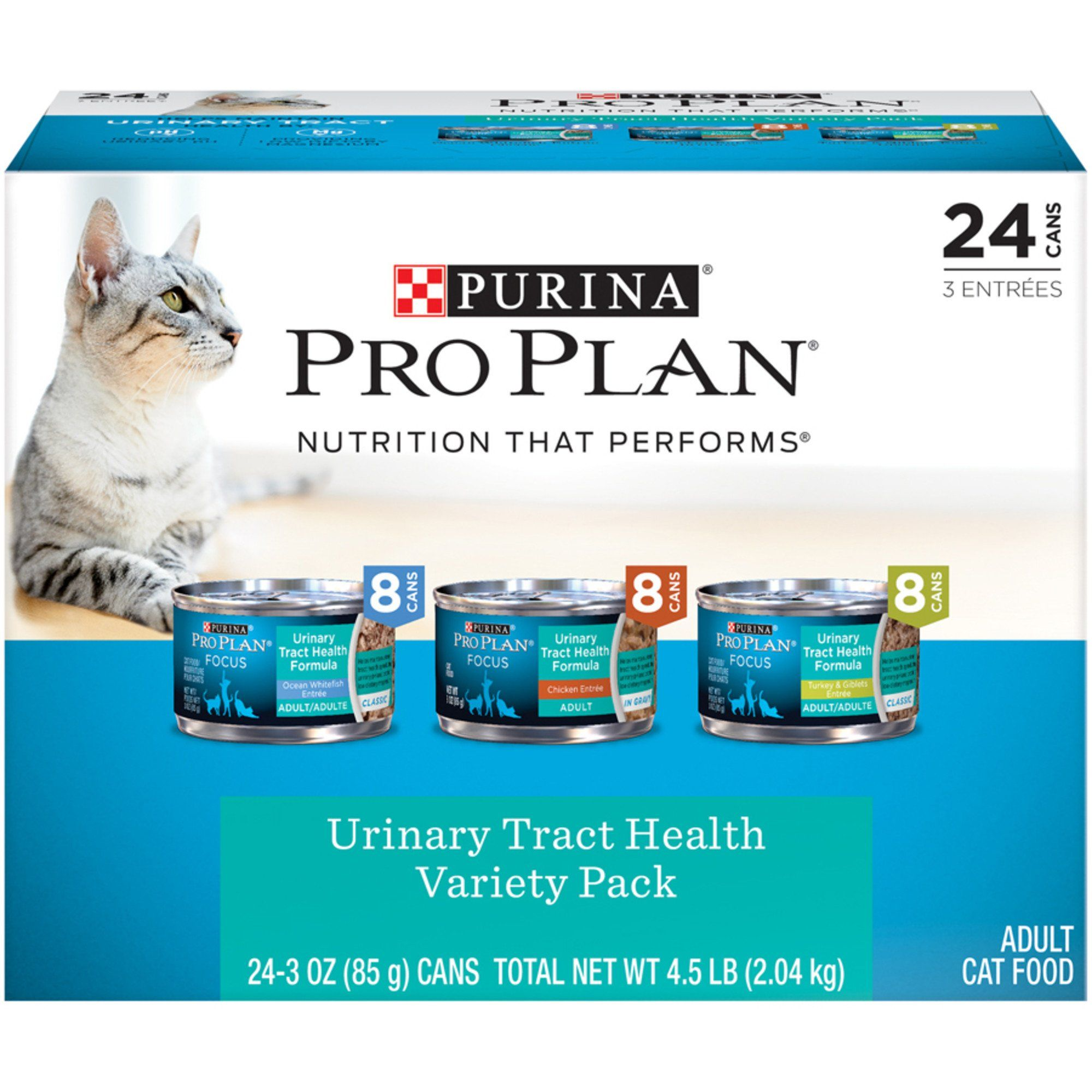 Purina Pro Plan Focus Classic Urinary Tract Health Formula