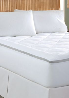 Wellrest   Spacer Breathable Gusset Mattress Pad - Online Only