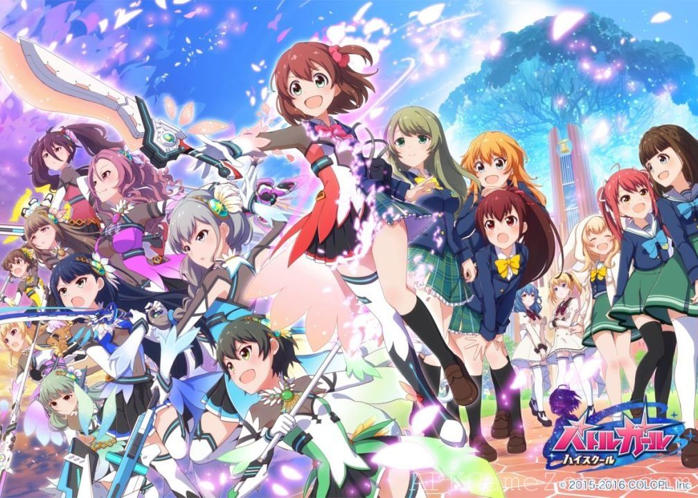 battle girl high school ultra mod download apk anime high school girls high