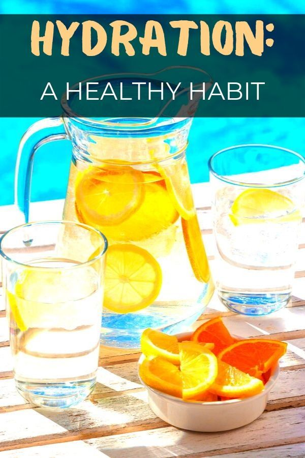 Learn how to hydrate better for a healthier life! #hydration #habits #water #healthy #lifestyle