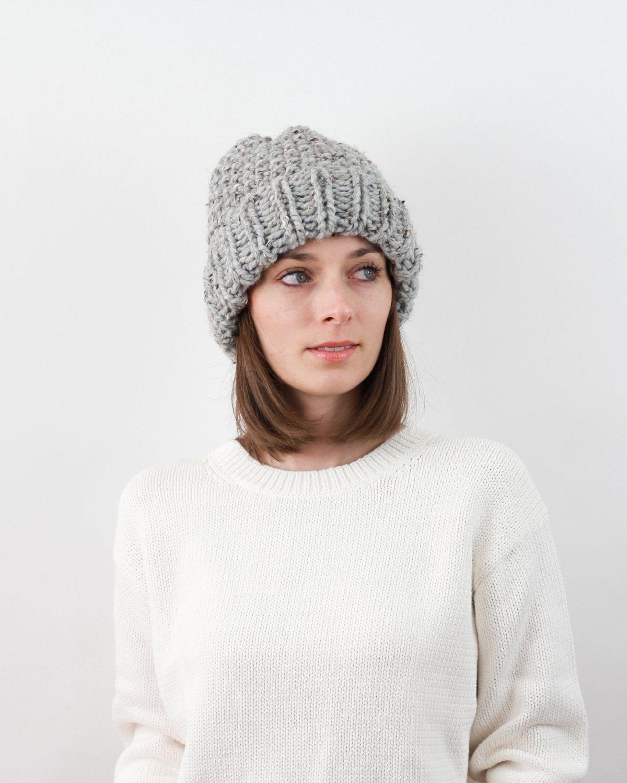 Knitting Pattern by Forefolk. Easy chunky knit beanie pattern ...