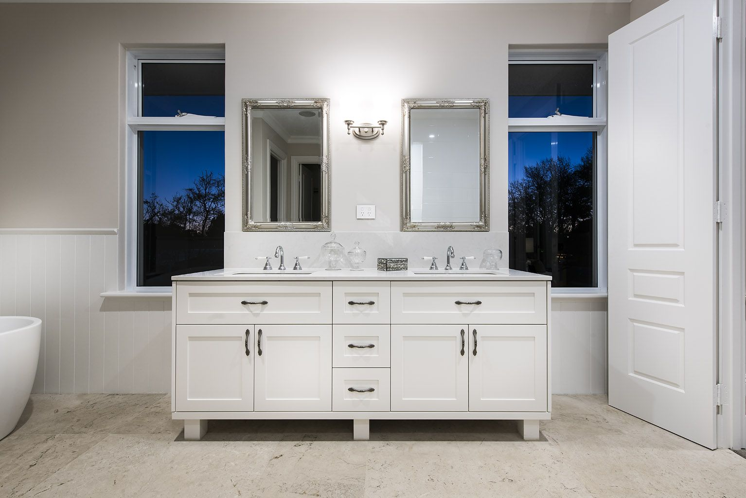 Hamptons style bathroom - Oswald Homes   Bathroom   Pinterest ...