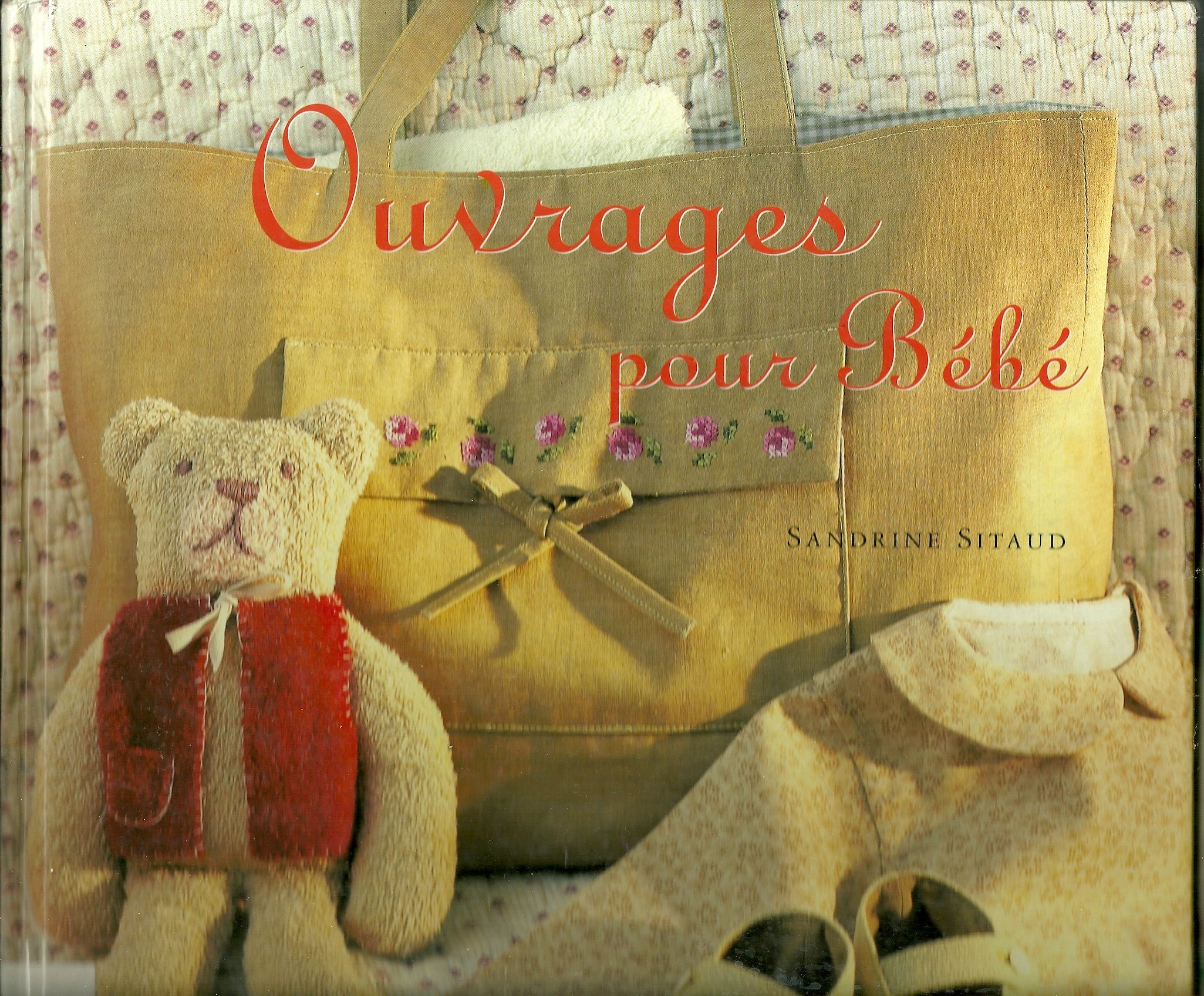 Handbag - Pattern included in Ouvrages pour bébé from Sandrine Sitaud / Sac à main d'après de patron inclus dans Ouvrages pour bébé de Sandrine Sitaud