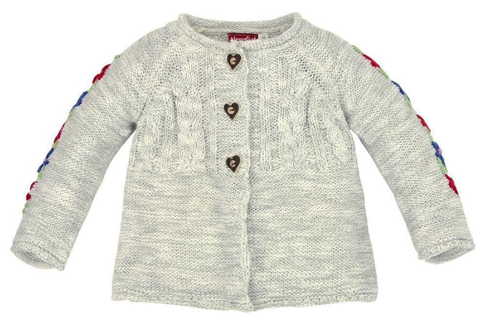 Pullover mit V-Ausschnitt und Teddyb/ärmotiv