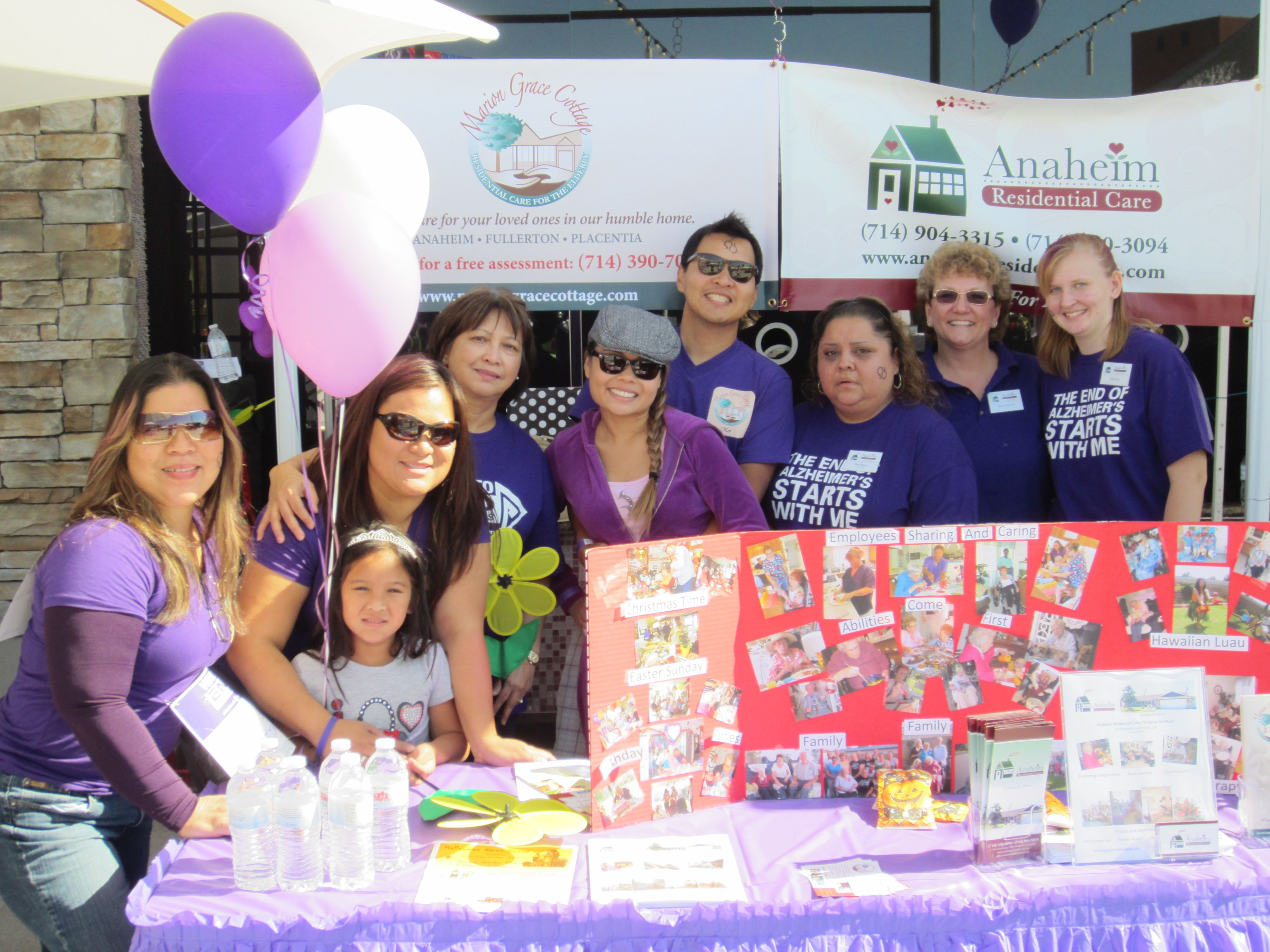 featuring marion grace cottage booth at the walk to end