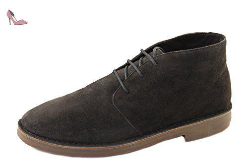Armani Jeans , Bottes Chukka homme - marron - marron, 43 EU - Chaussures  emporio 8bc42bd479f