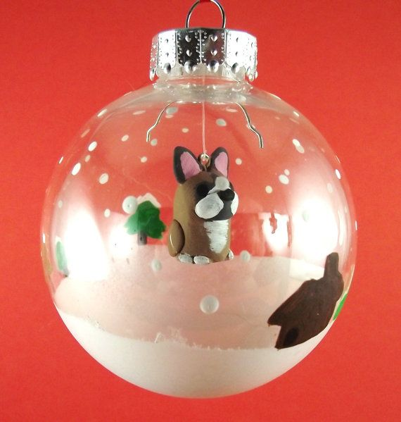 French Bulldog Christmas Ornament (With images ...