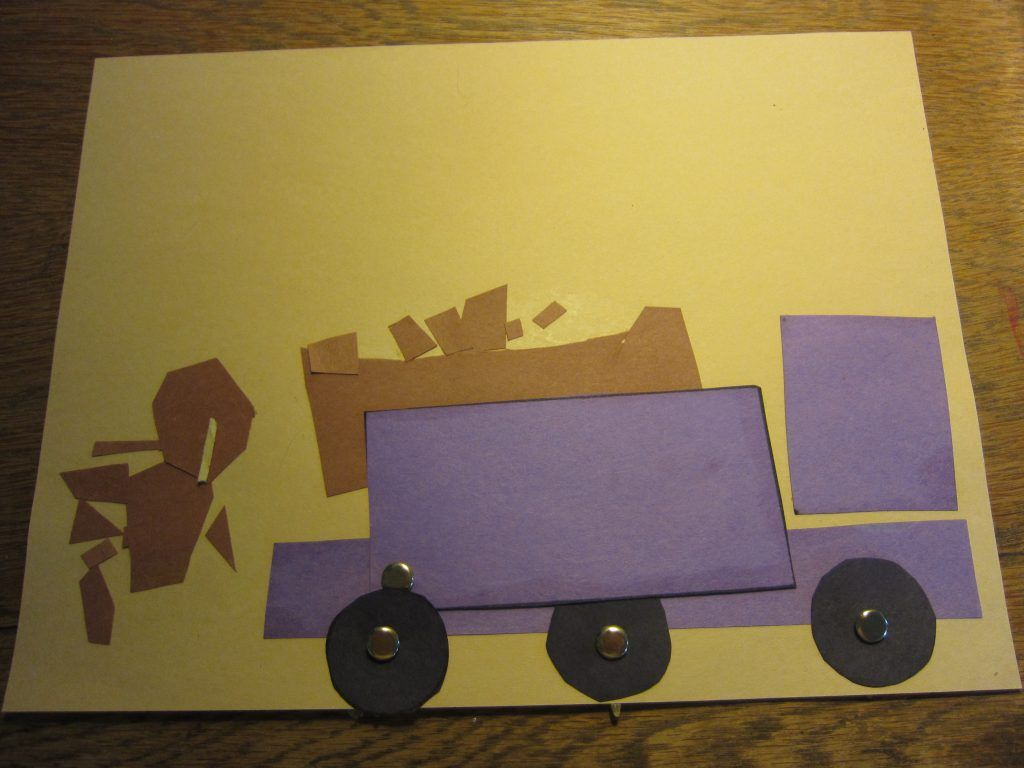 Paper Dump Truck At Rest With Images