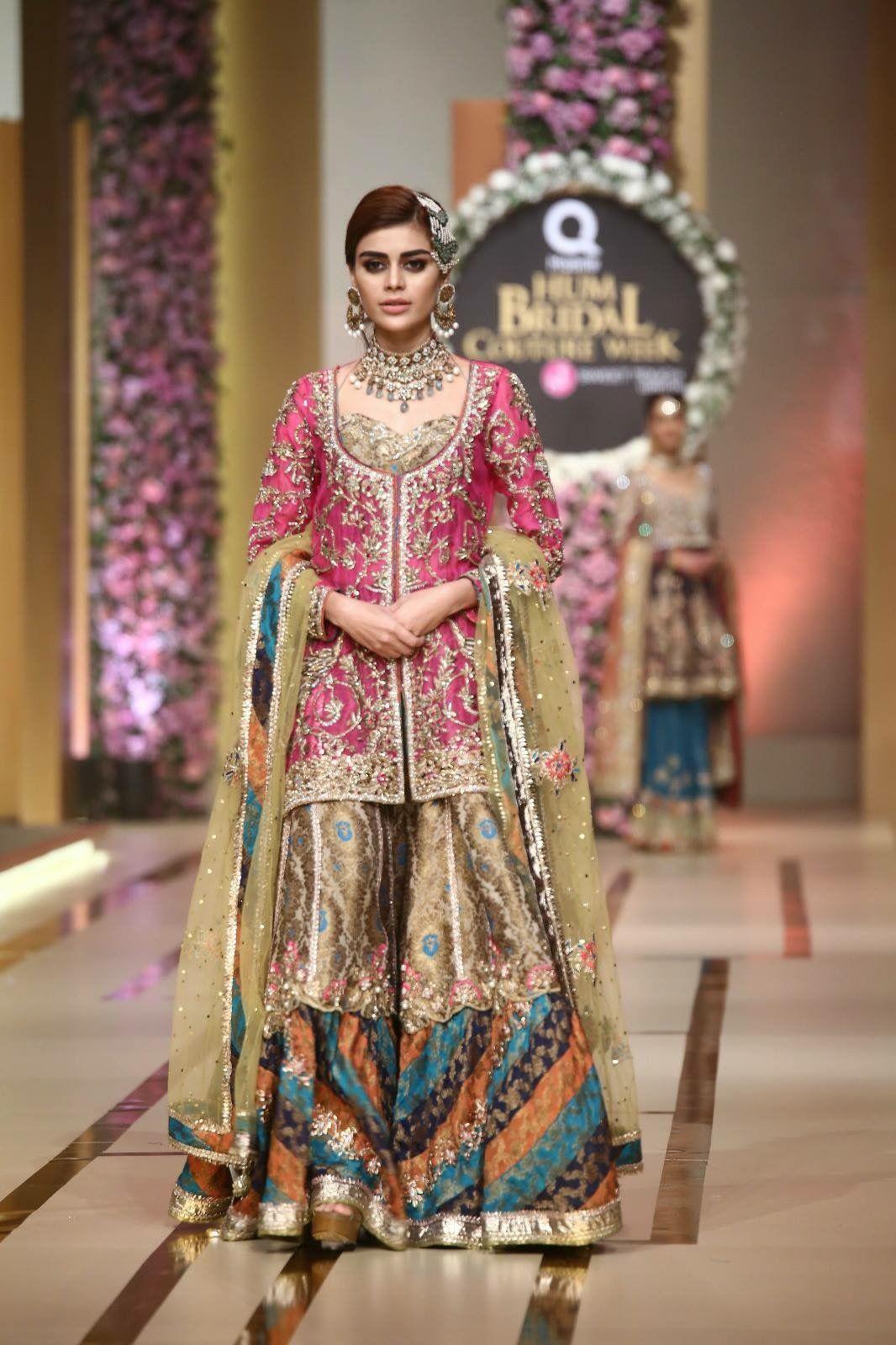 7b1f65e2ab4d8d Chatapati gharara Pakistani Mehndi Dress, Pakistani Bridal Couture,  Pakistani Wedding Outfits, Pakistani Bridal