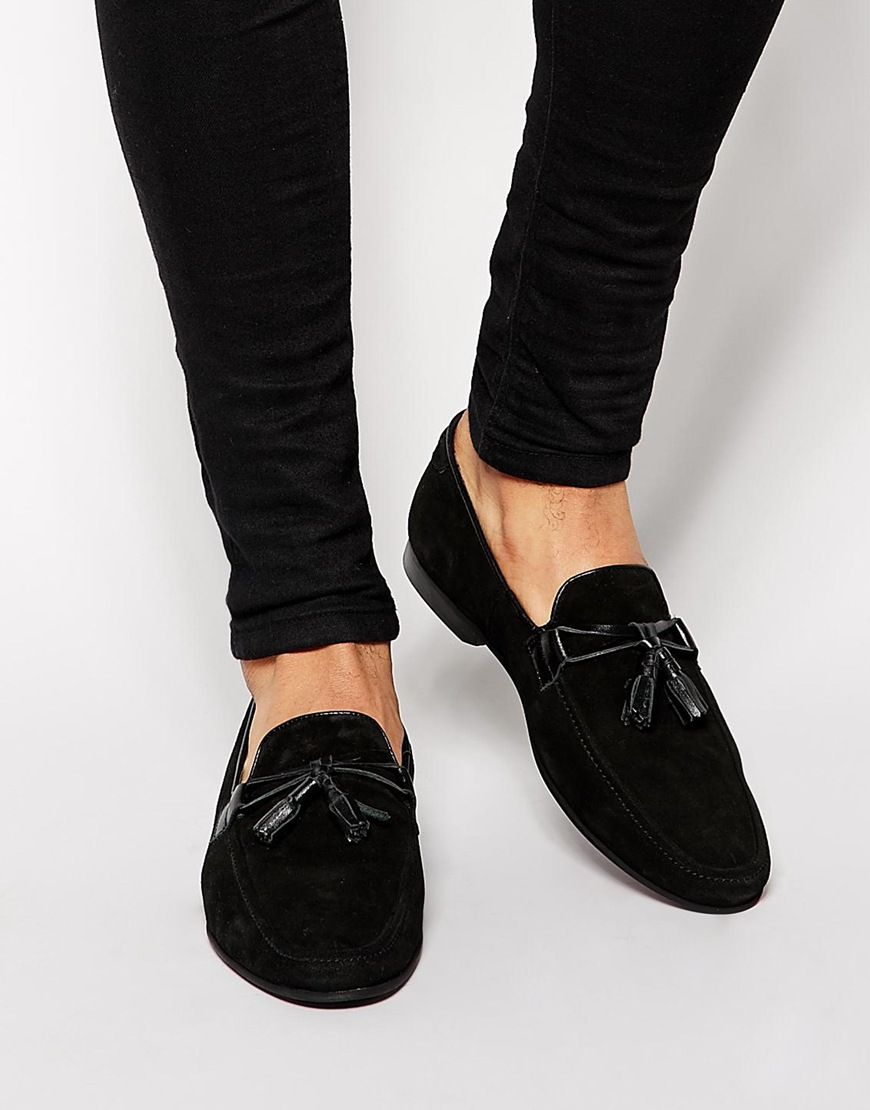 wholesale dealer 75c8a f8bbe ASOS+Tassel+Loafers+in+Suede