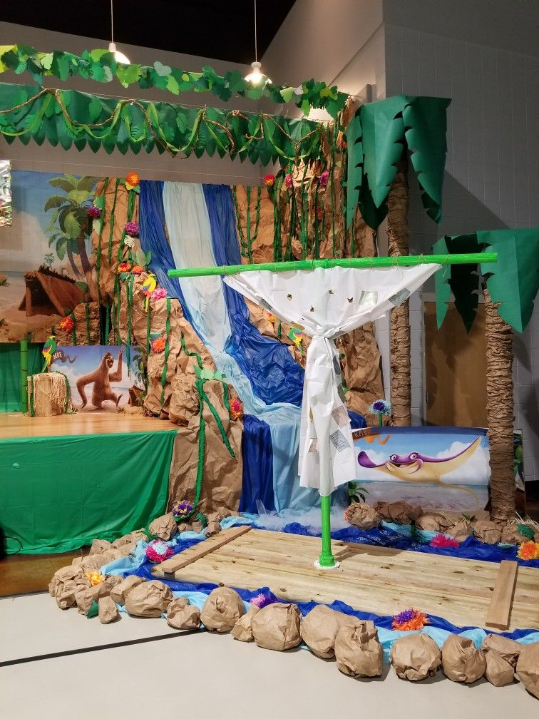 Vbs shipwrecked stage wrightsboro baptist church wilmington nc vbs for Interior design school wilmington nc