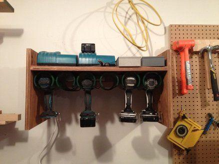 Drill Charging/Storage Station
