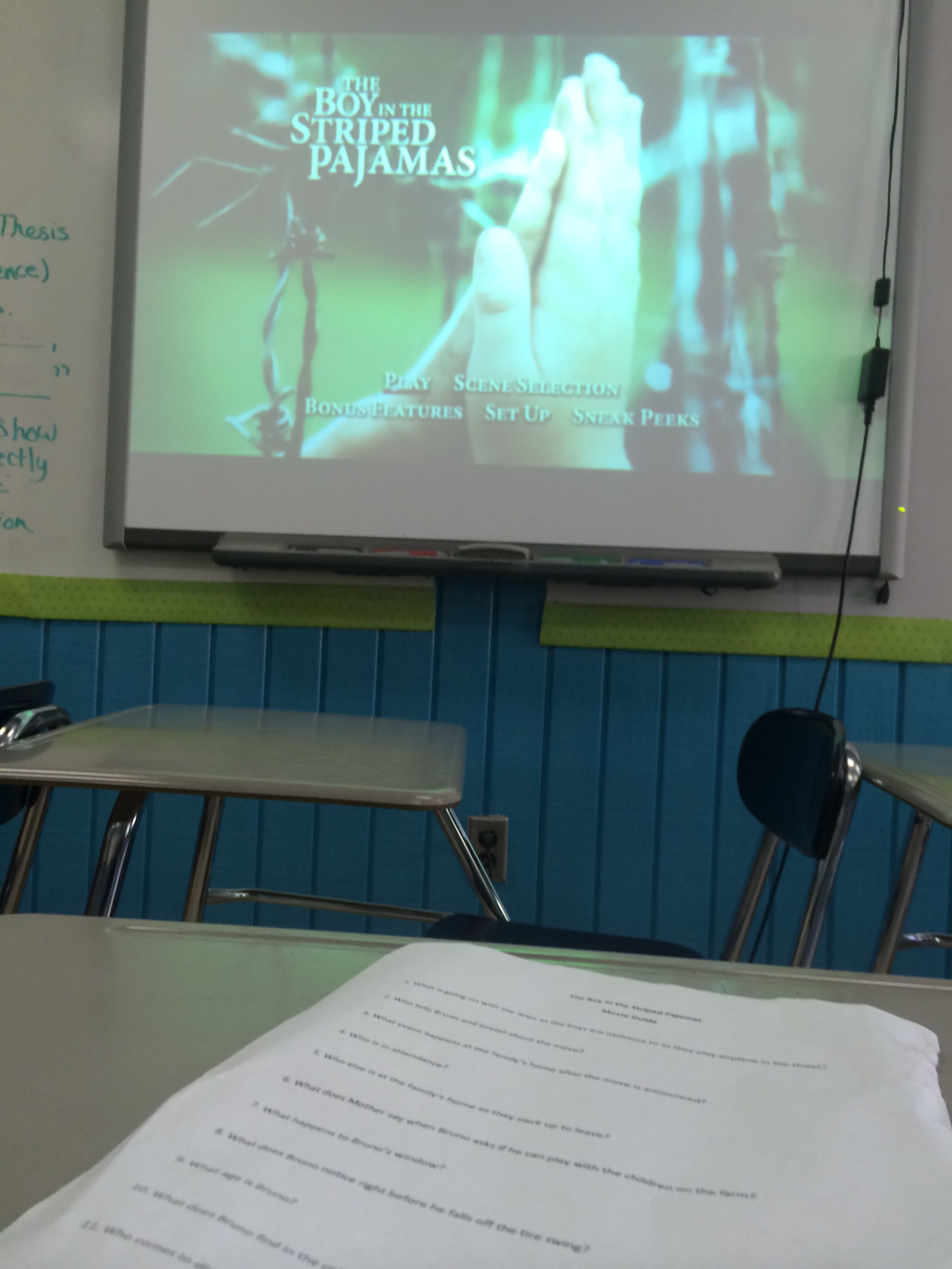 boy in the striped pajamas movie guide activities group the boy in the striped pajamas movie guide contains t chart whole group middot prompt rubricessay promptactivities
