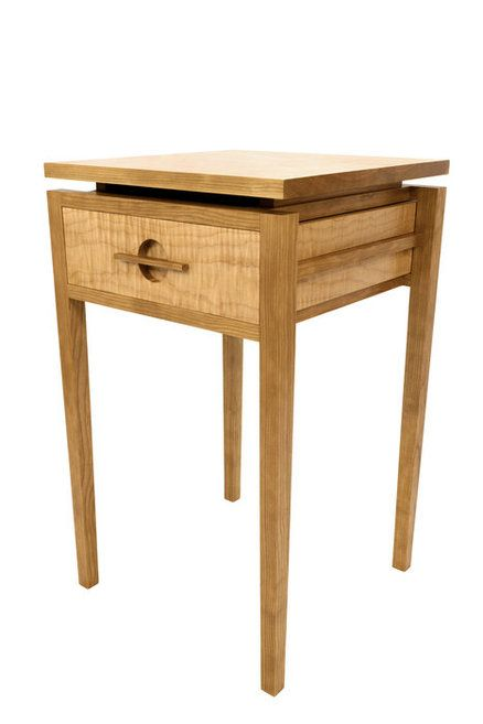 Cherry And Maple End Table