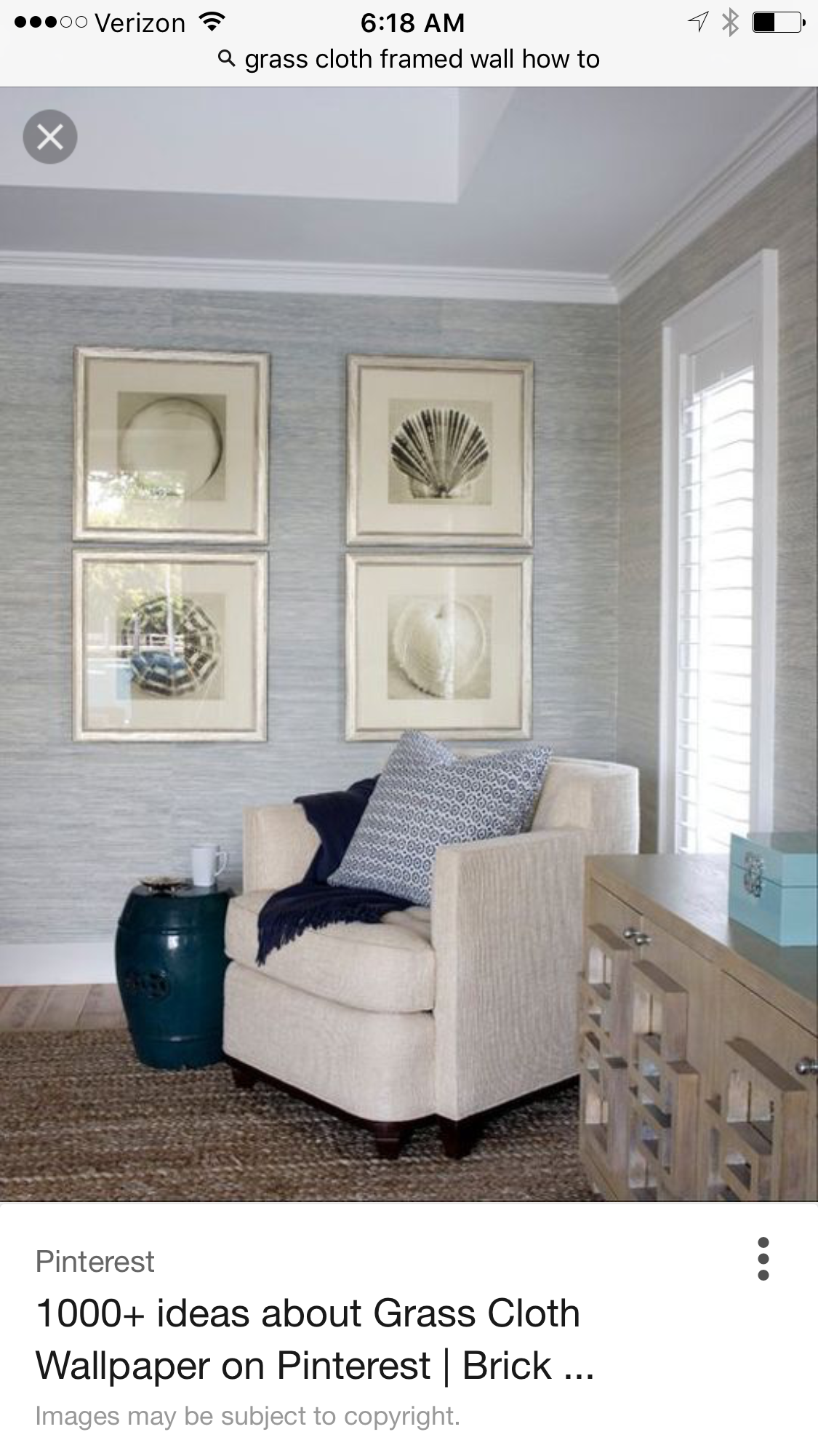 Pin by Cindysue Mccallan on great room Grey grasscloth