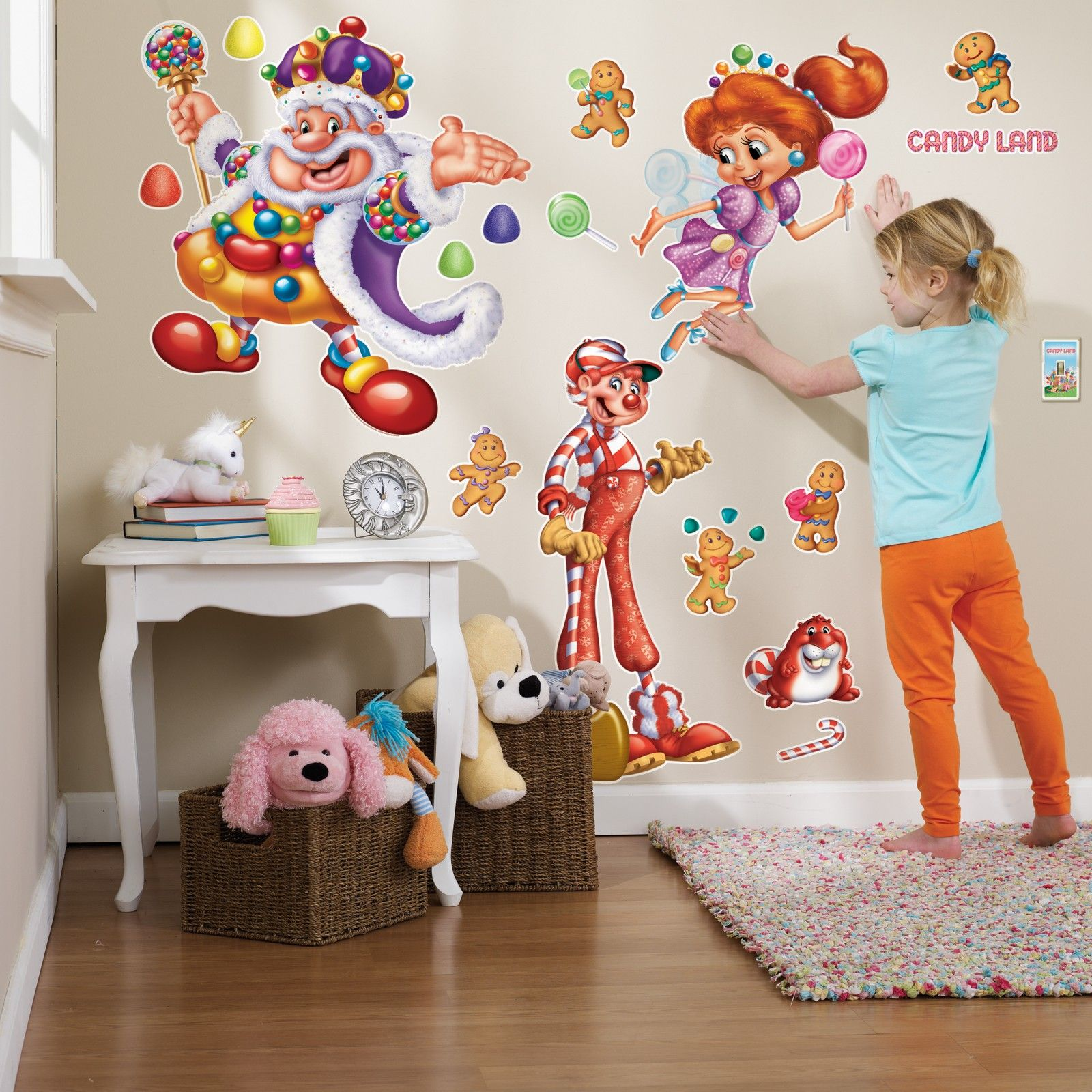 Candyland wall decals for classroom