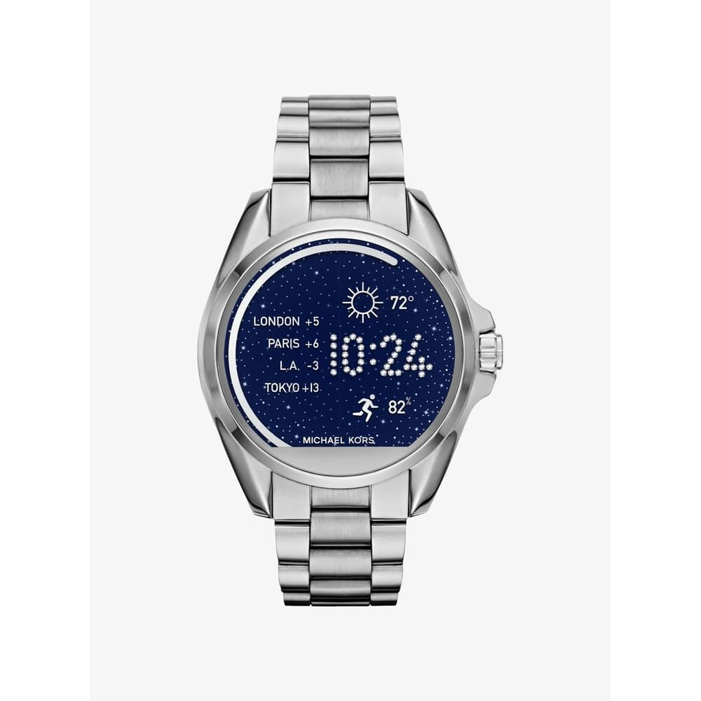 Michael Kors Access Bradshaw Silver Tone Smartwatch SILVER